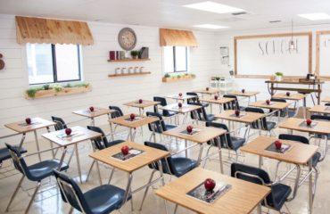 کلاس درس مدرسه غیرانتفاعی