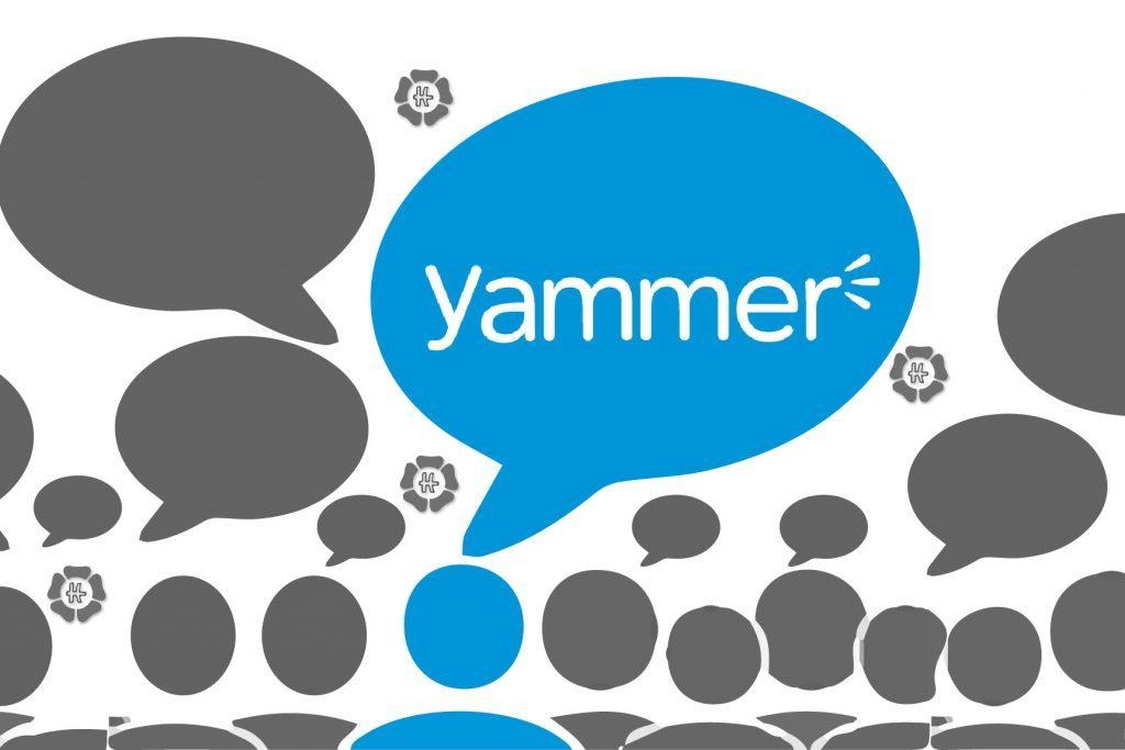 Yammer برنامه ای برای مدرسه هوشمند