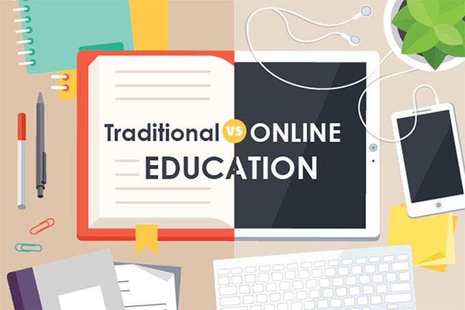 تفاوت آموزش آنلاین با آموزش سنتی
