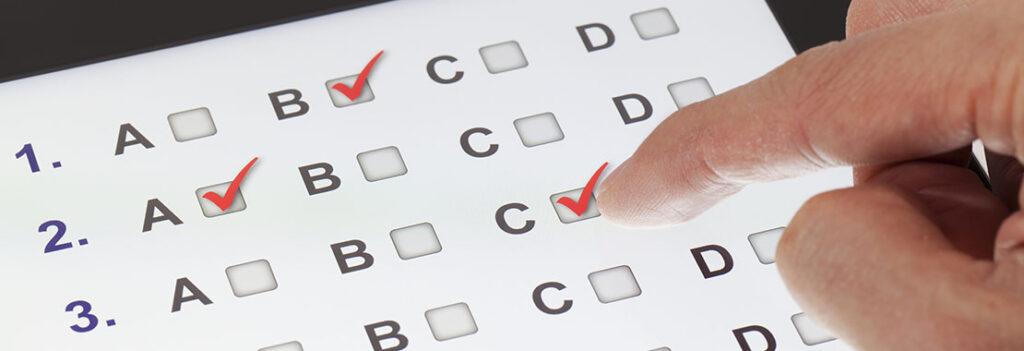 طراحی امتحان مجازی
