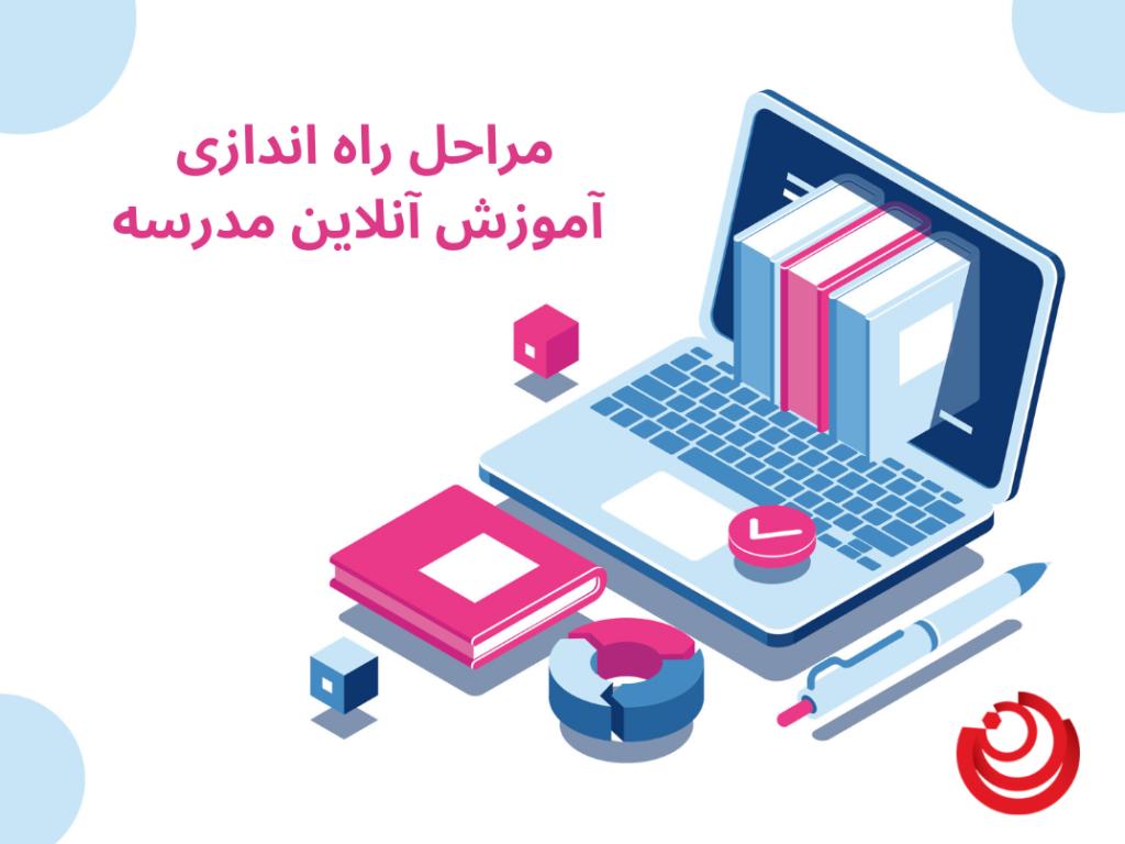 راه اندازی آموزش آنلاین مدرسه
